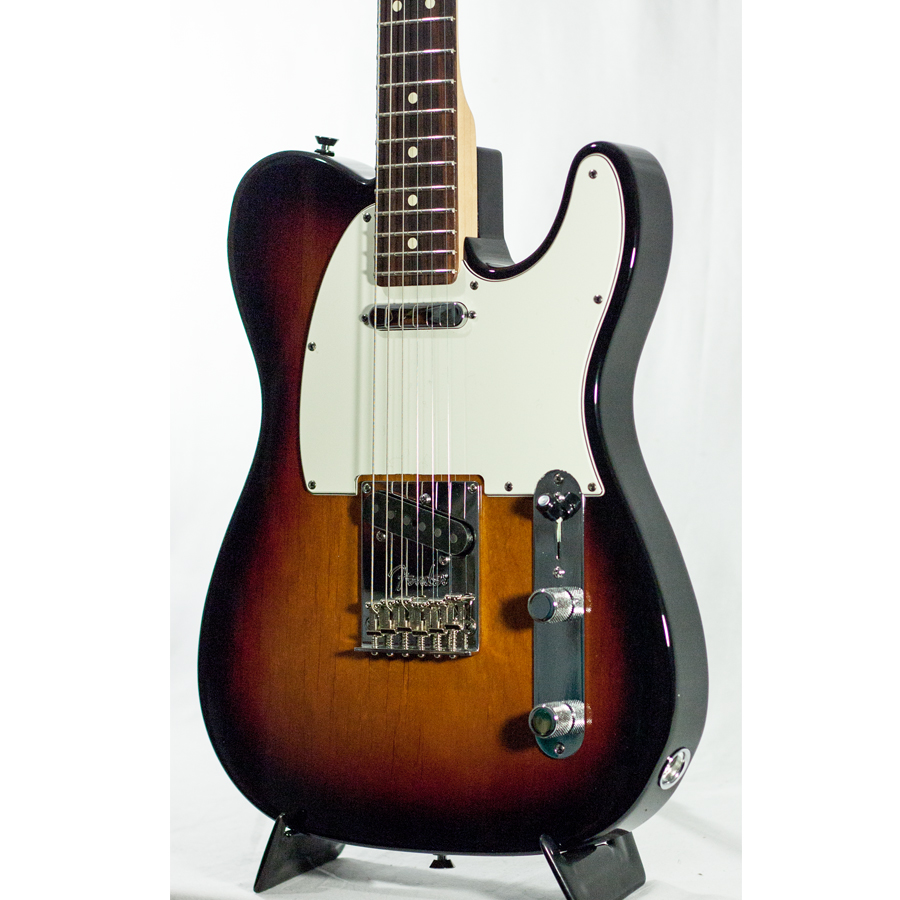 Fender American Standard Telecaster - 3-Color Sunburst with Case - Rosewood Blemished Body Detail
