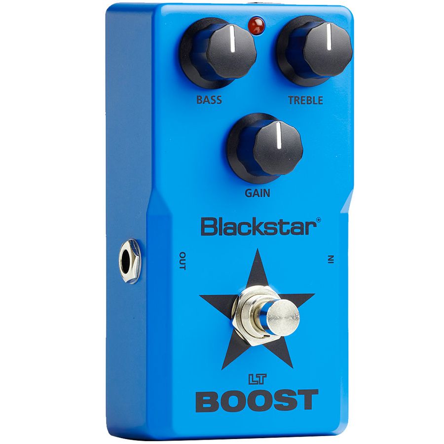 Blackstar LT BOOST Guitar Pedal Side View