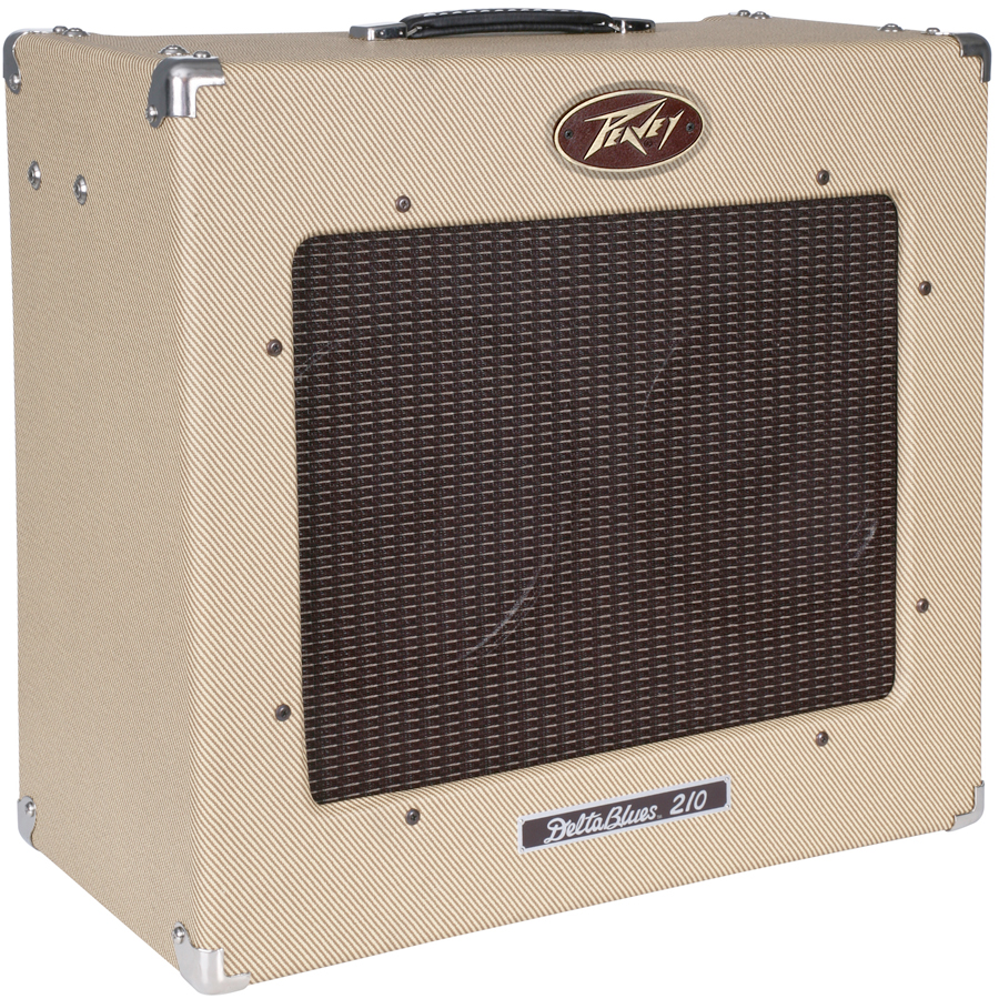 Peavey Delta Blues 210 Tweed Angled View