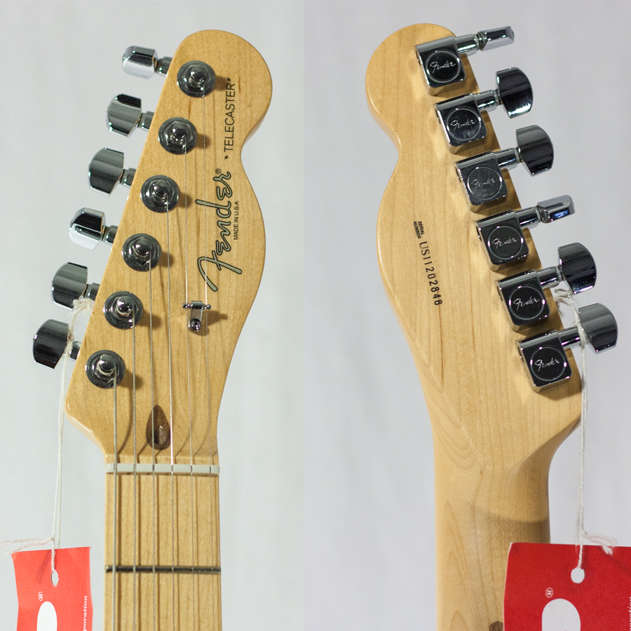 Fender Telebration Cabronita Telecaster Black B-Stock Headstock