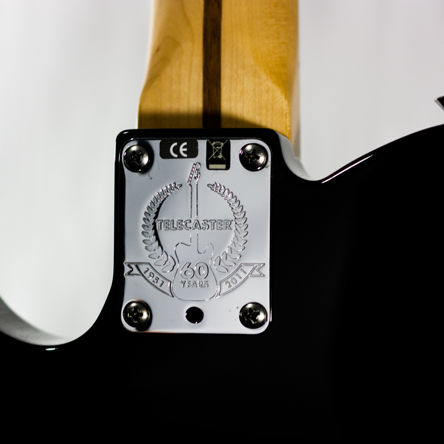 Fender Telebration Cabronita Telecaster Black B-Stock Backplate