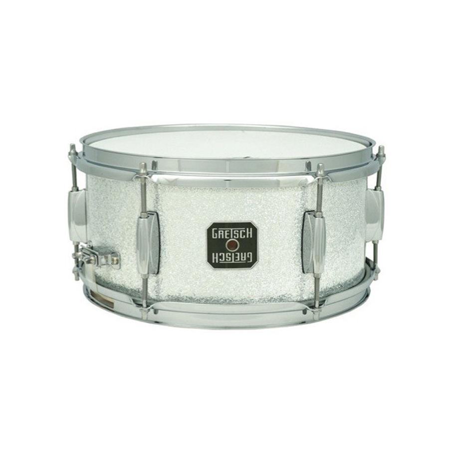 Mahogany 6x10 Snare - Silver Sparkle
