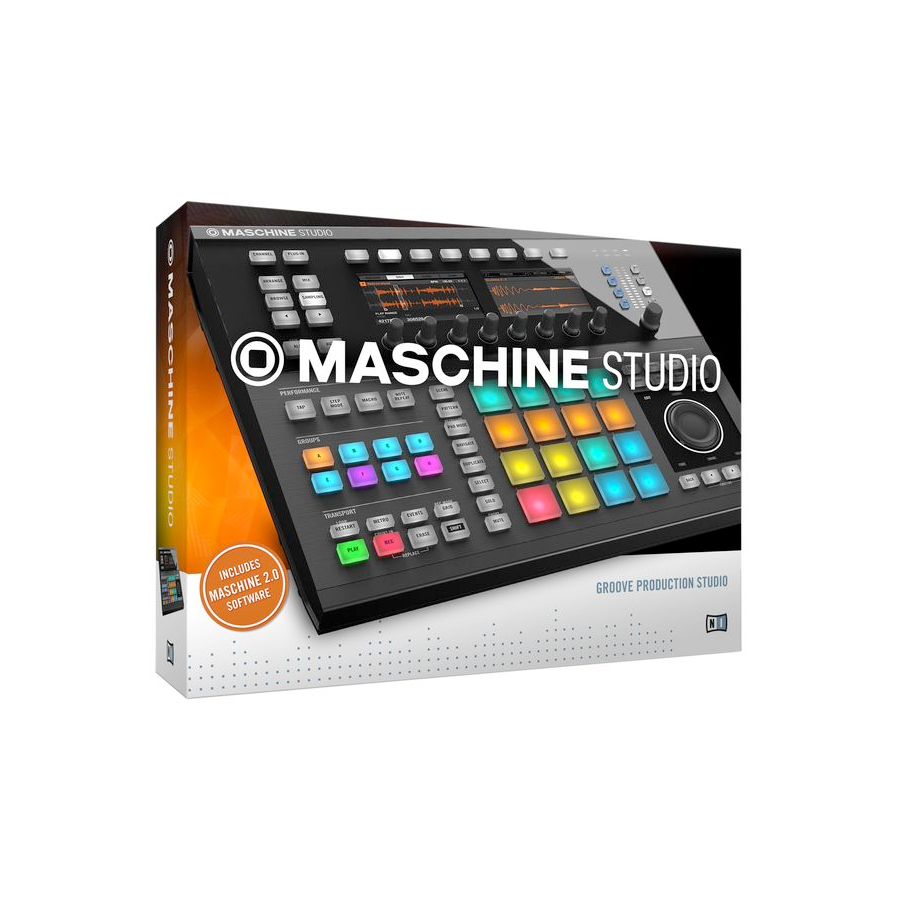 Native Instruments Maschine Studio Black View 8