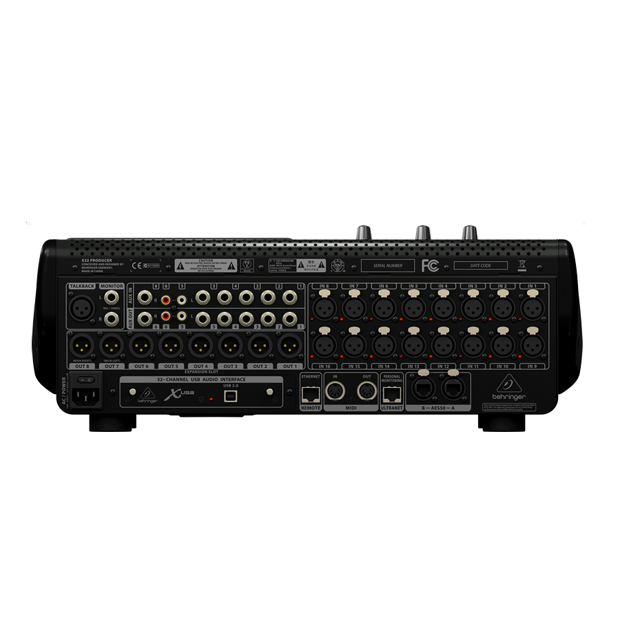 Behringer X32 Producer Top View