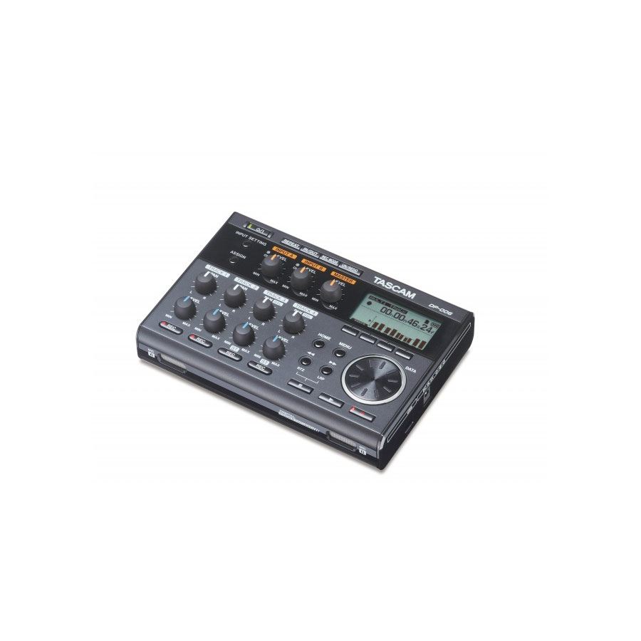 Tascam DP-006 Angled View