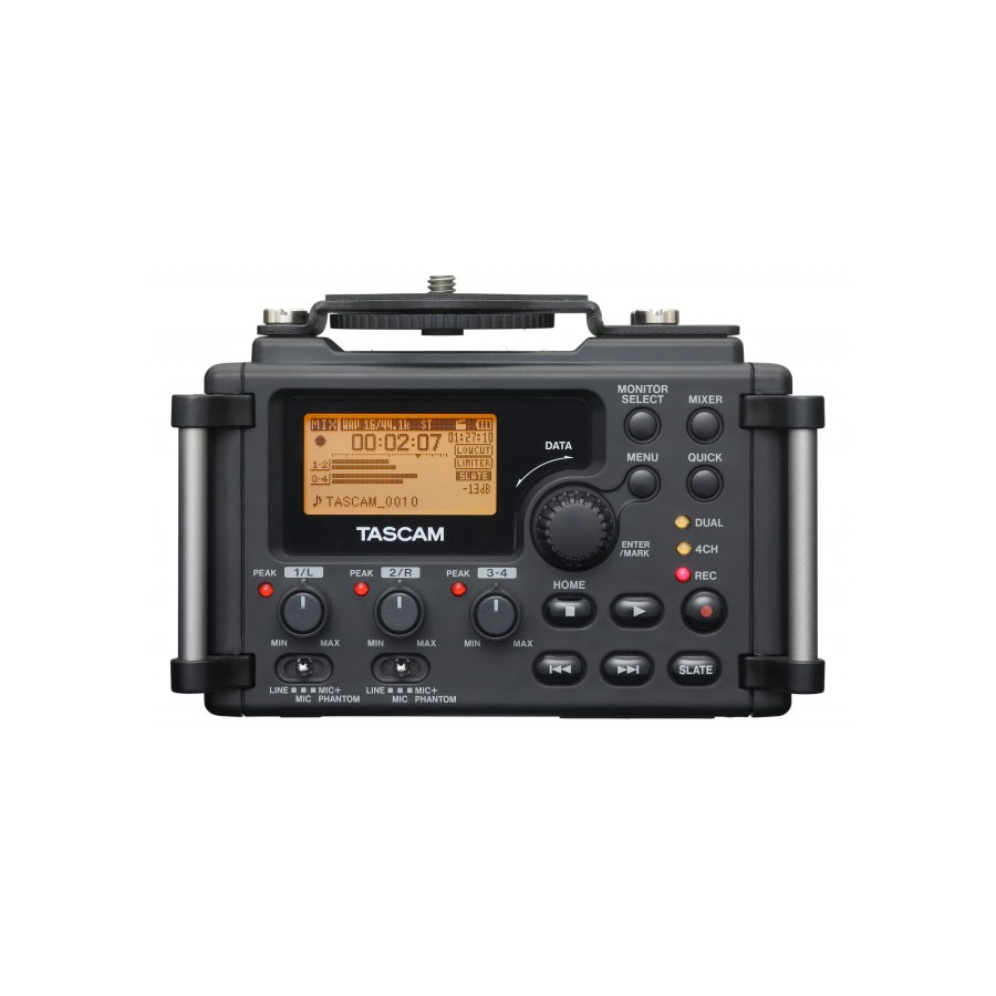 Tascam DR-60D Rear View