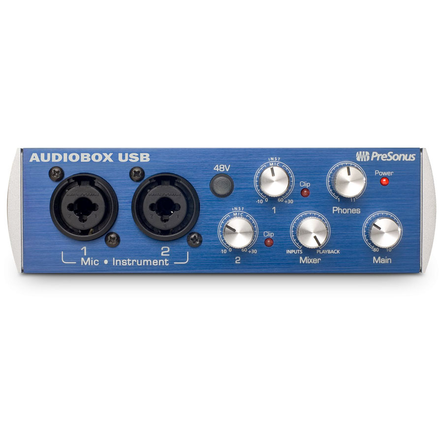 Presonus AudioBox Stereo Bundle Front View