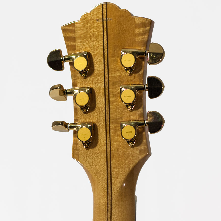 Guild GSR X-500D Rear Headstock Detail
