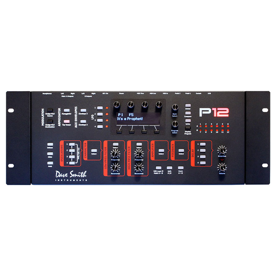 Dave Smith Prophet 12 Module with Rack Ears