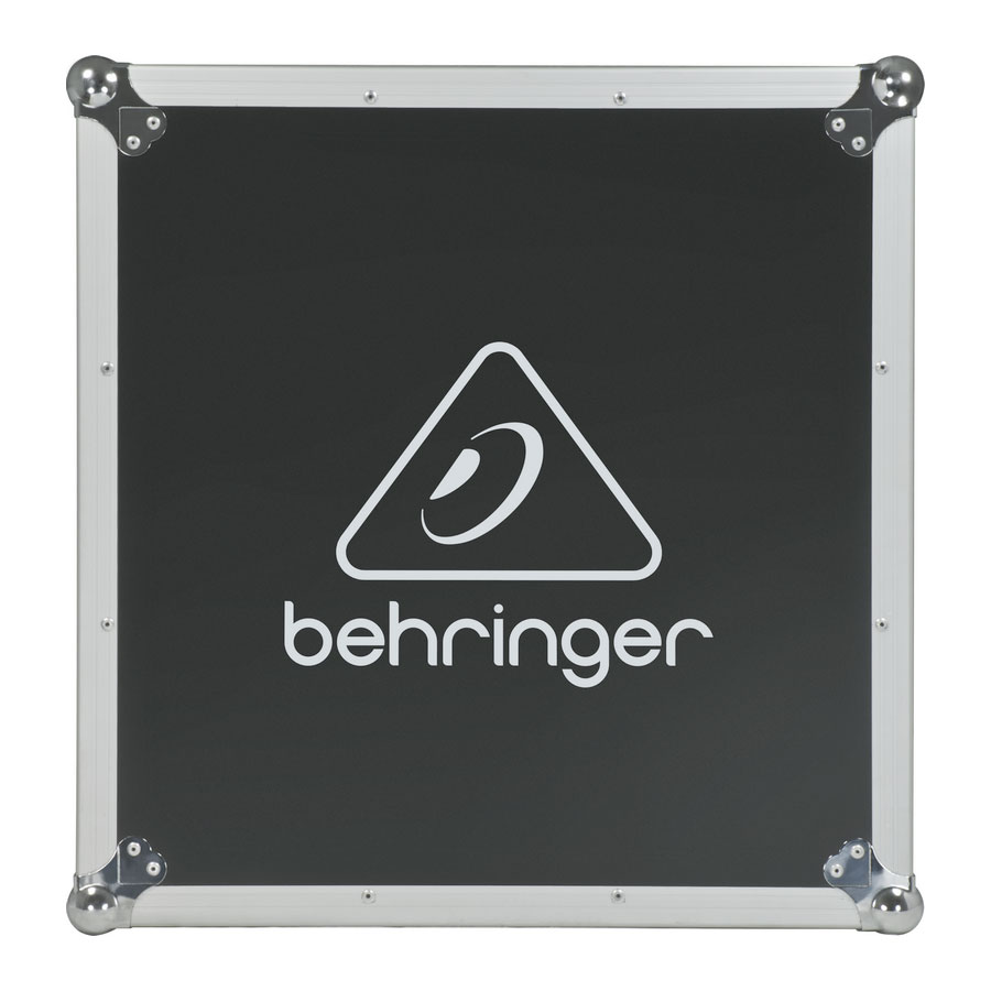 Behringer X32 Producer-TP Top Case View