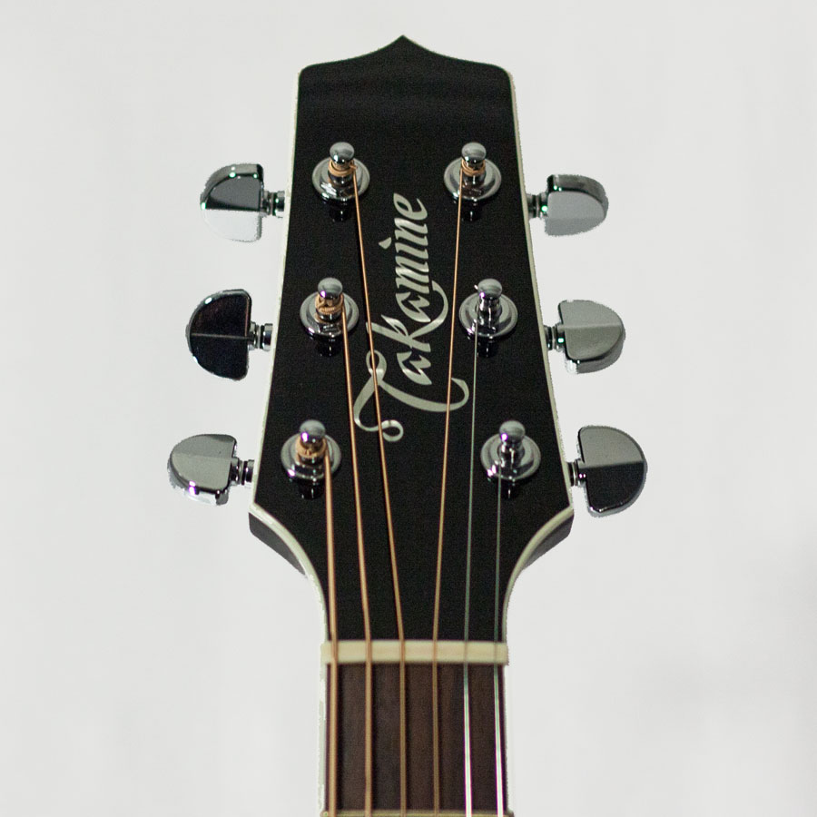Takamine EF341SC - New Old Stock Headstock Detail