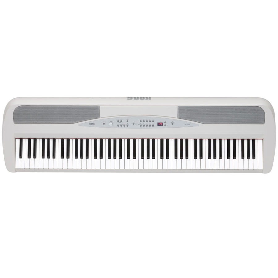 Korg SP280 White Top View