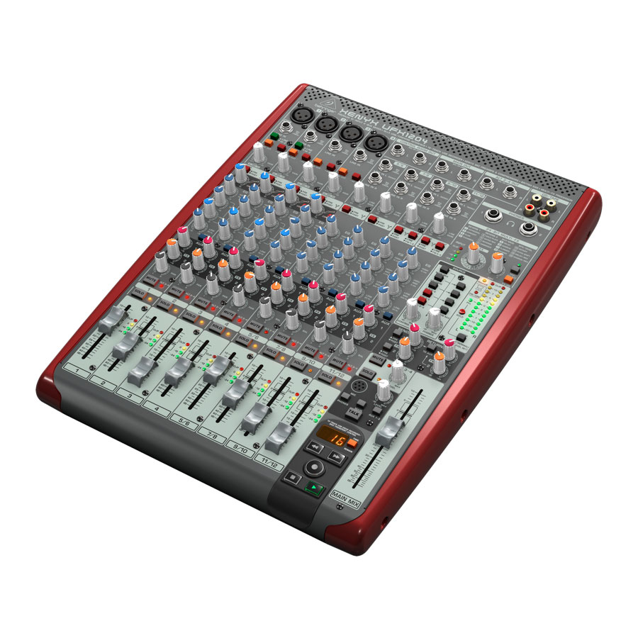 Behringer Xenyx UFX1204 Rear View