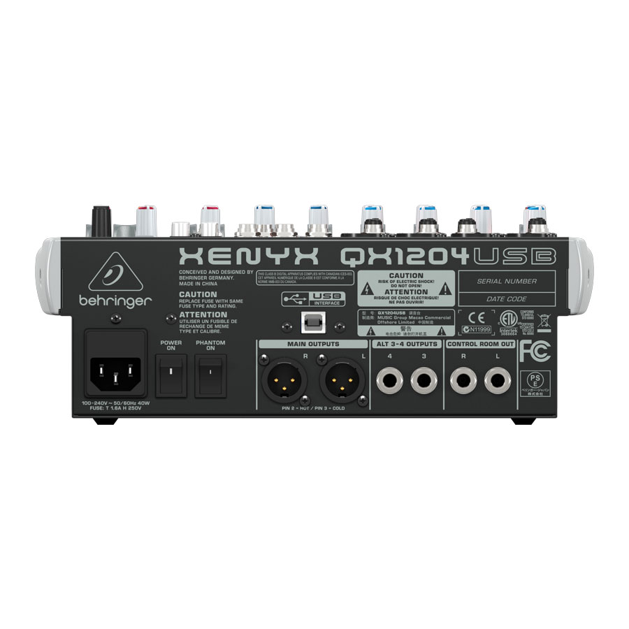 Behringer QX1204USB Angled View