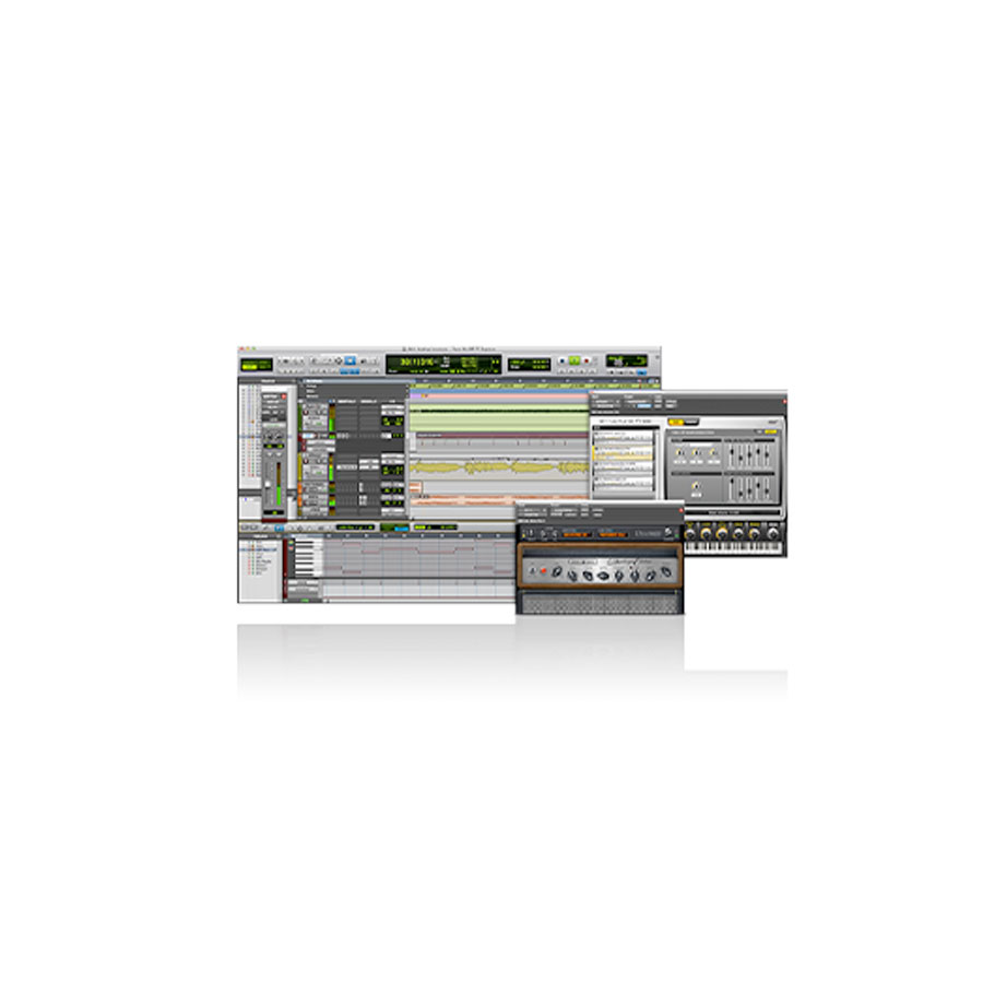 Avid Fast Track Solo and Pro Tools Express Pro Tools Screenshots