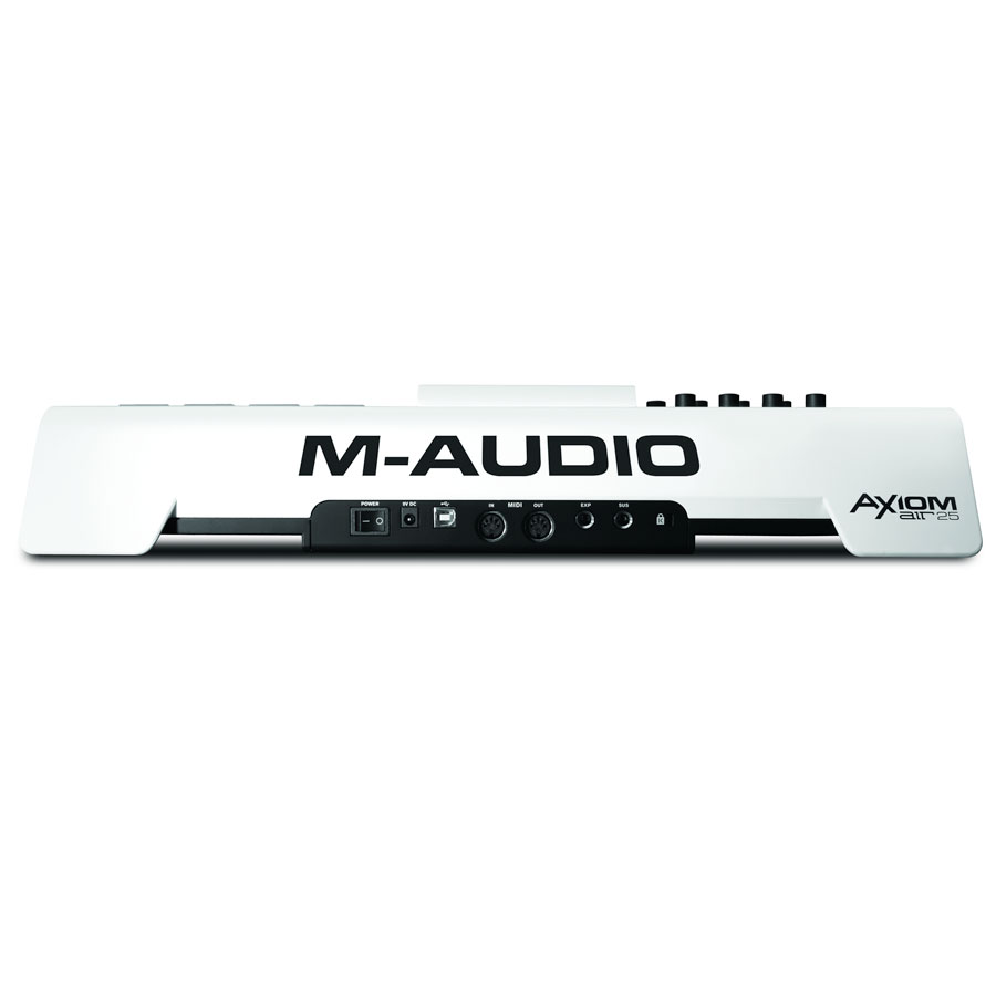 M-Audio Axiom AIR 25 Rear