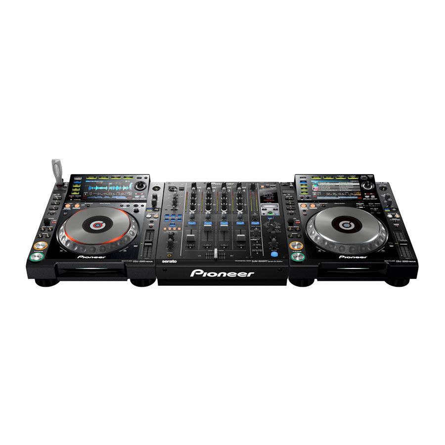 Pioneer DJM-900SRT Turntables Not Included