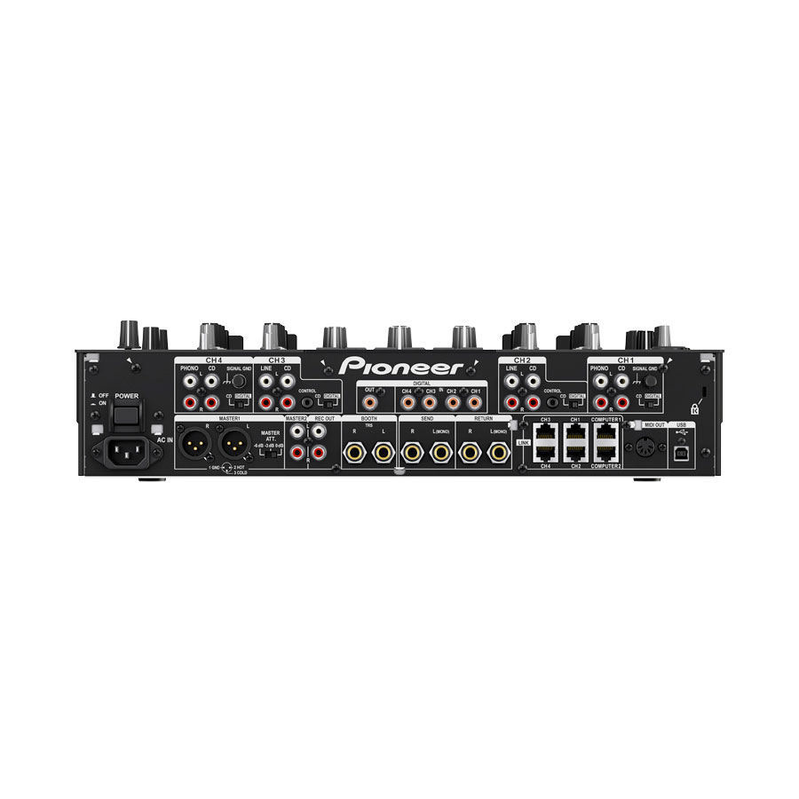 Pioneer DJM-2000 Nexus Rear View