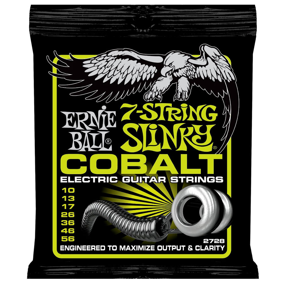 2728 Cobalt 7-String Regular Slinky