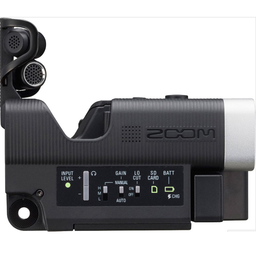 Zoom Q4 Handy Video / Audio Recorder Rear View