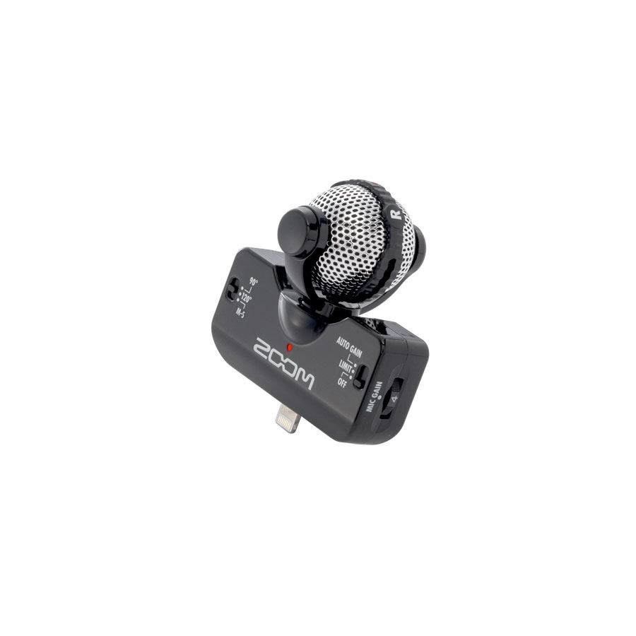 Zoom iQ5 Black Angled View