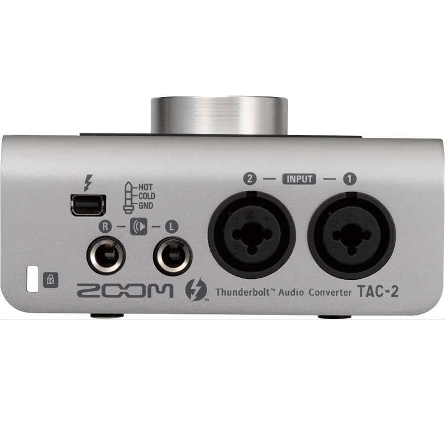 Zoom TAC-2 Thunderbolt Audio Interface View 2