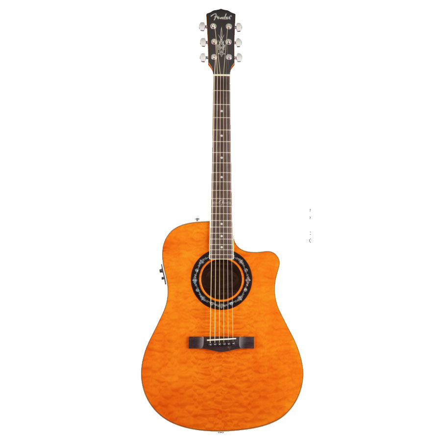 Fender T-Bucket 300 CE - Transparent Black Amber