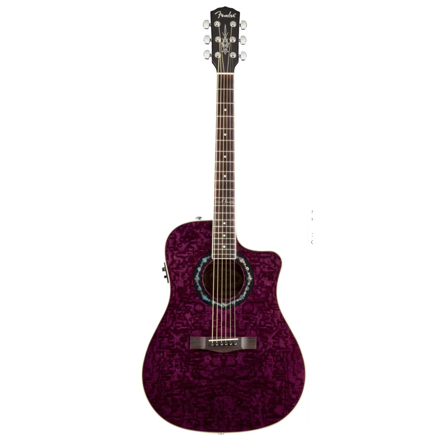 Fender T-Bucket 300 CE - Transparent Black Transparent Violet