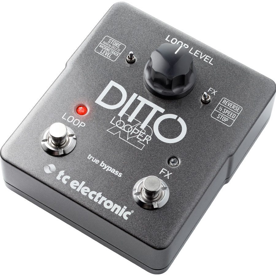TC Electronic Ditto X2 Looper Angled View