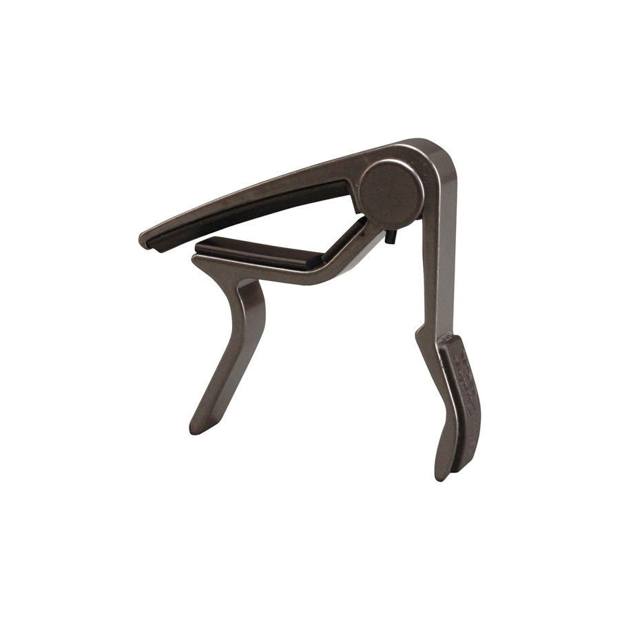 83CM Acoustic Smoked Chrome Trigger Curved Capo