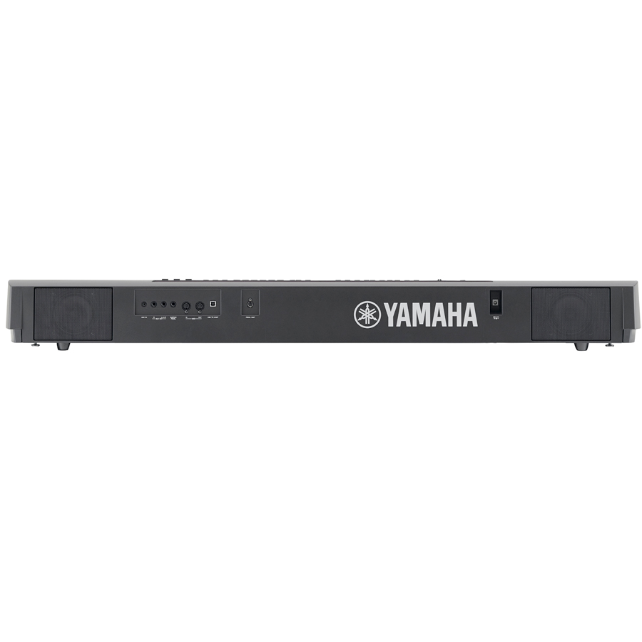 Yamaha P-255 Black Rear View