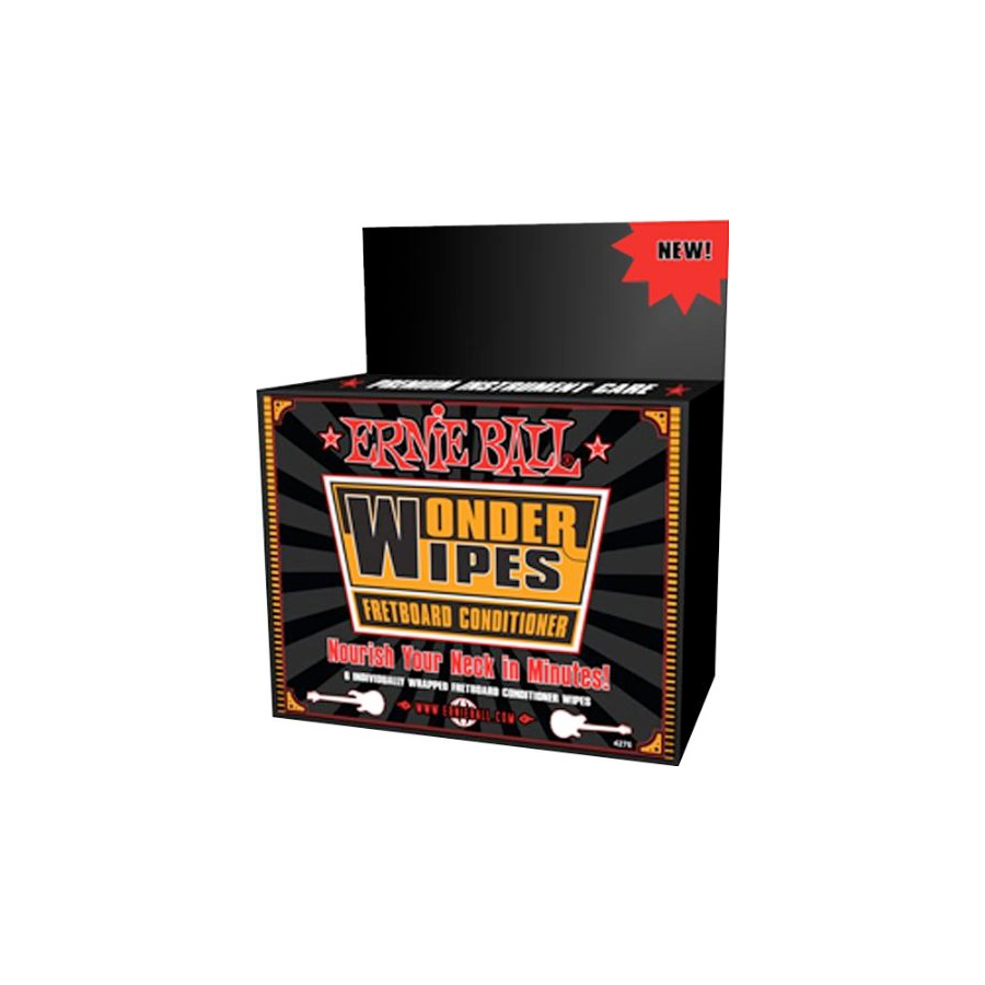 Wonder Wipes Fretboard Conditioner