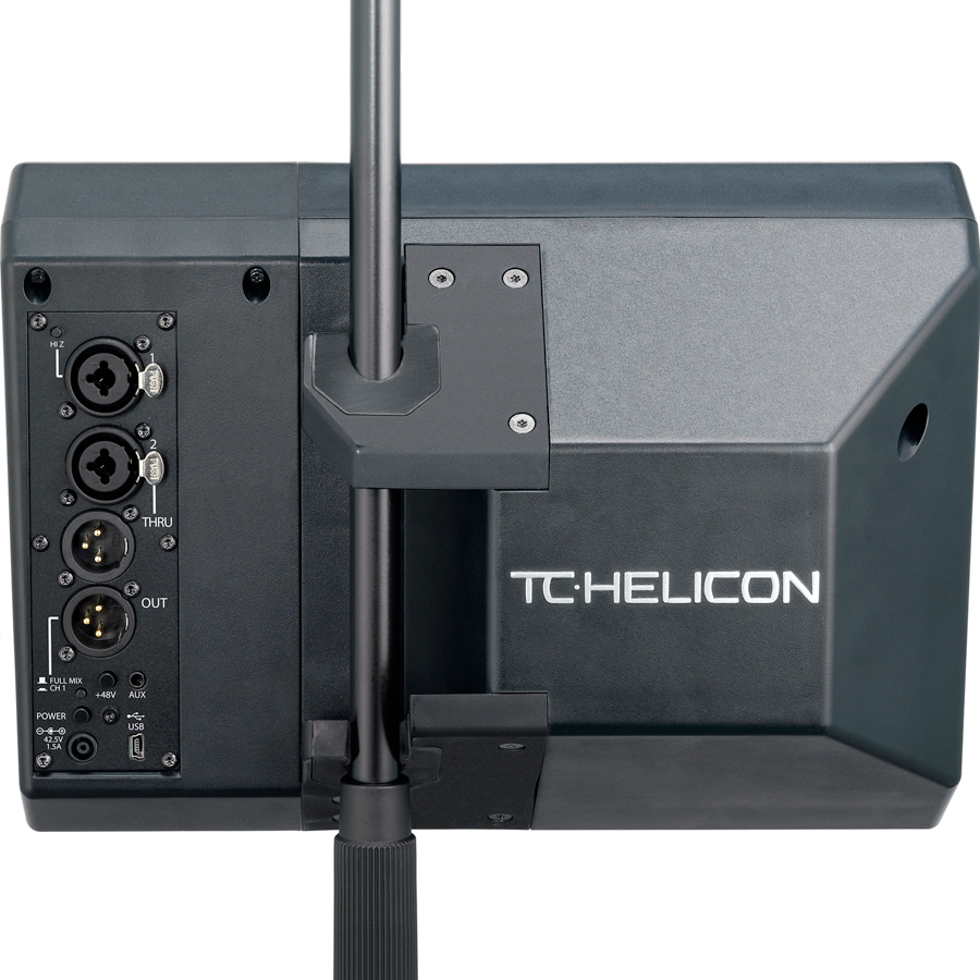 TC Helicon VoiceSolo FX150 Rear View
