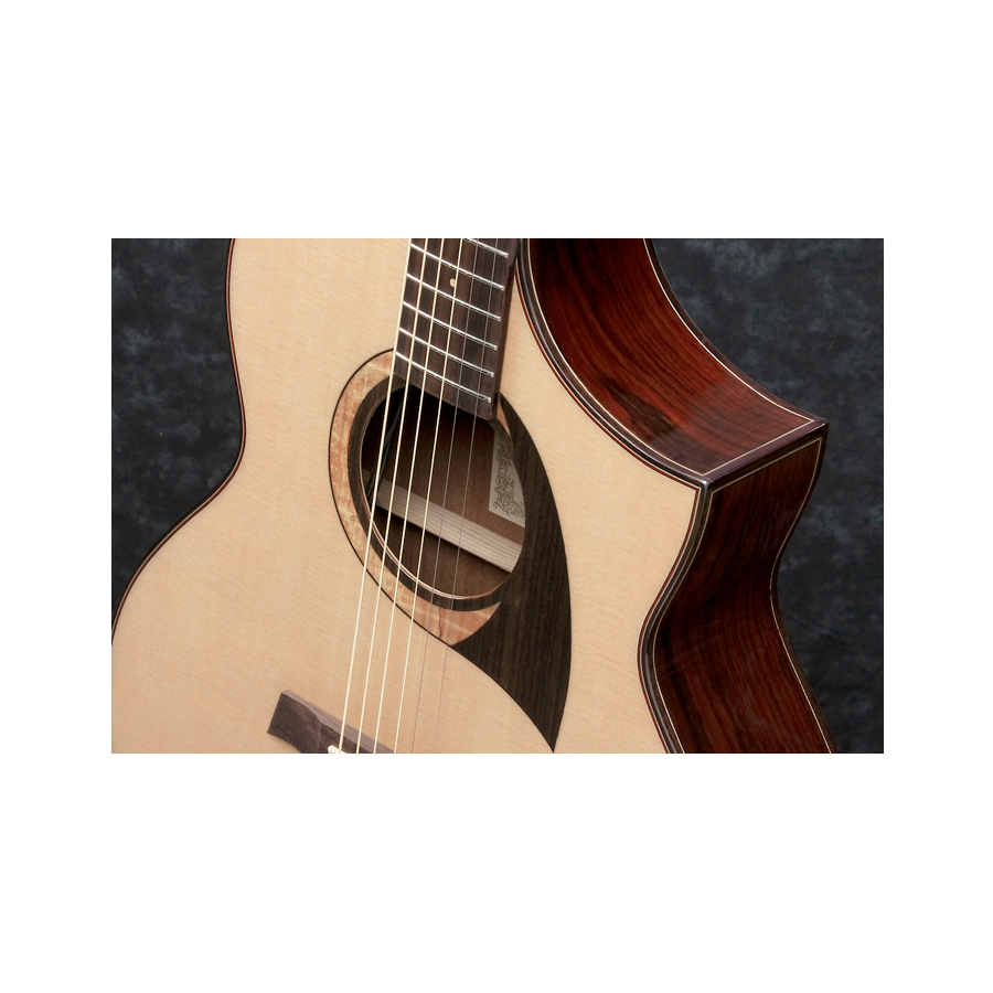 Ibanez AEW22CD Natural View 6