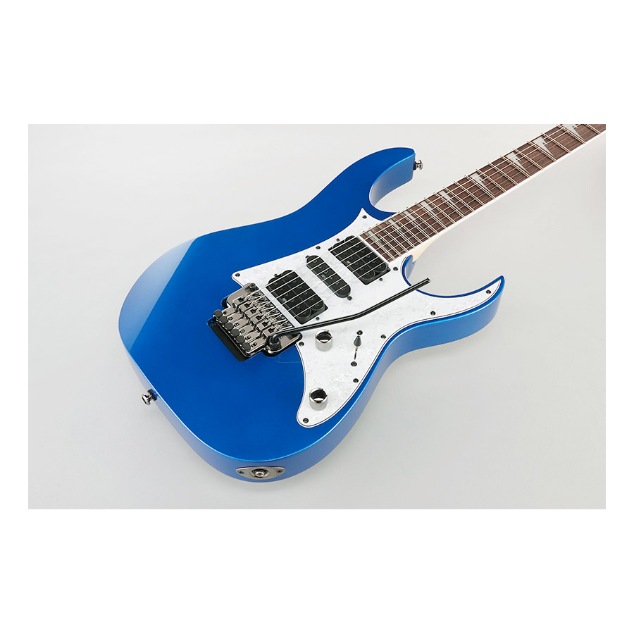 Ibanez RG450DX Starlight Blue Body Detail