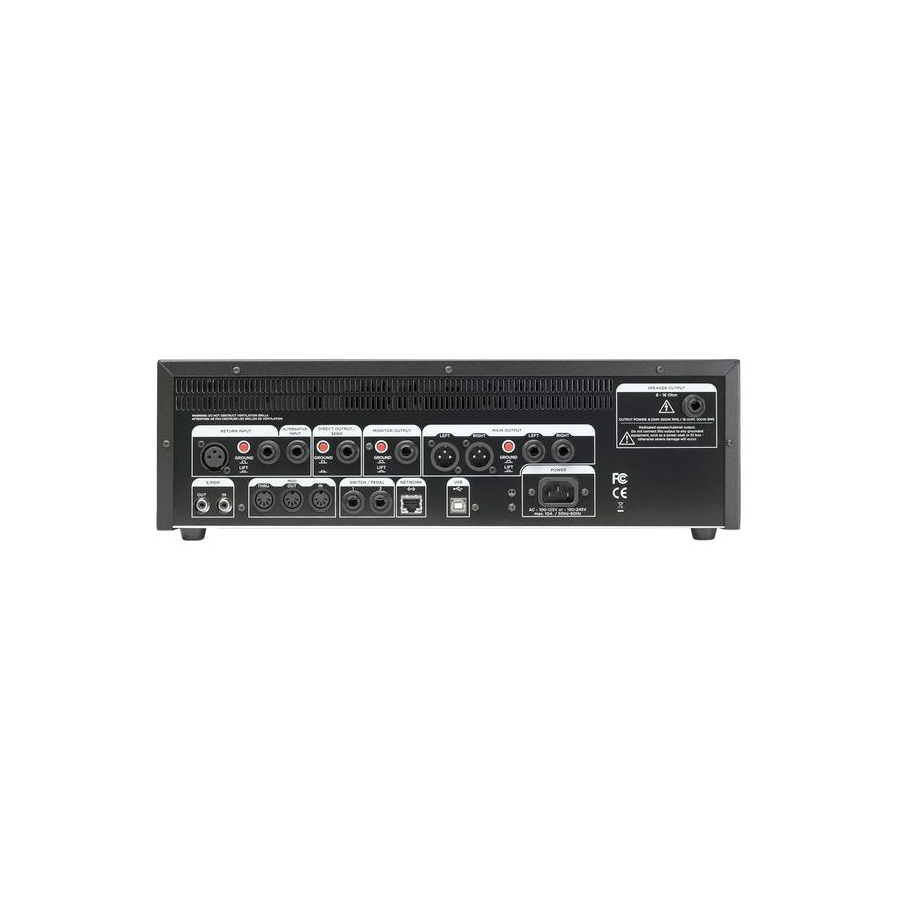 Kemper Profiler Rack Rear View
