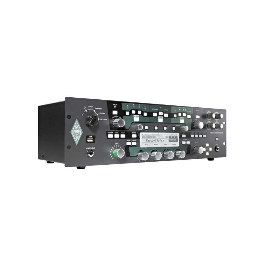 Kemper Profiler Rack Angled View