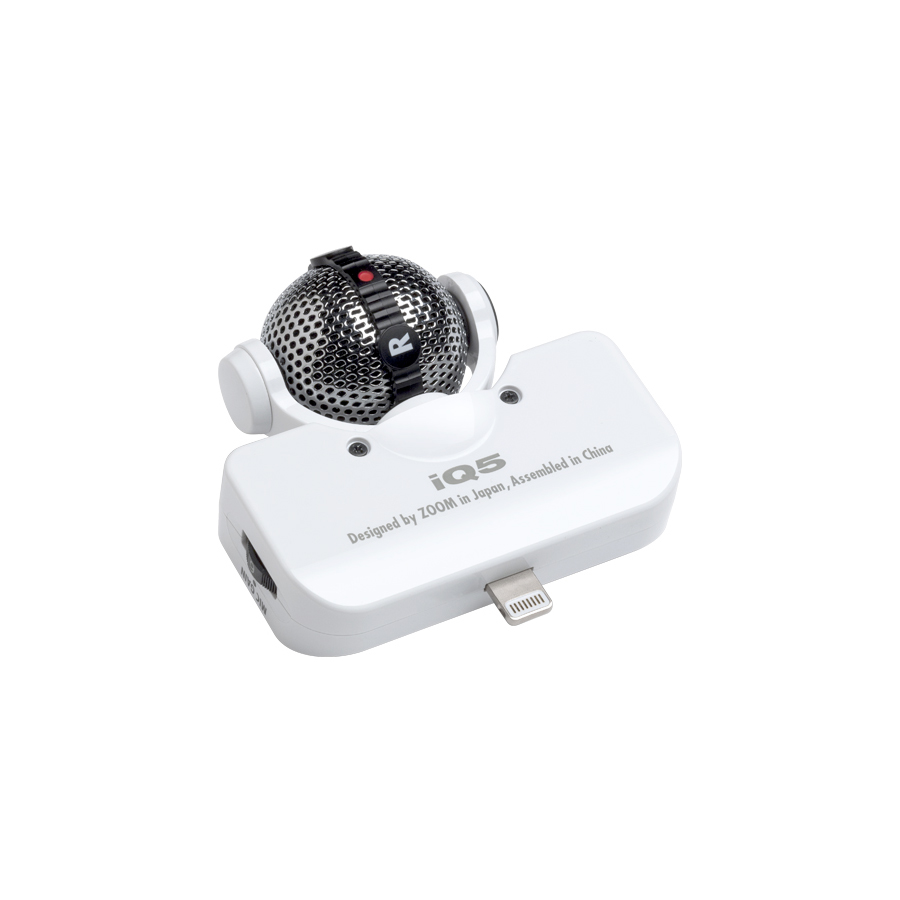 Zoom iQ5 White Angled View