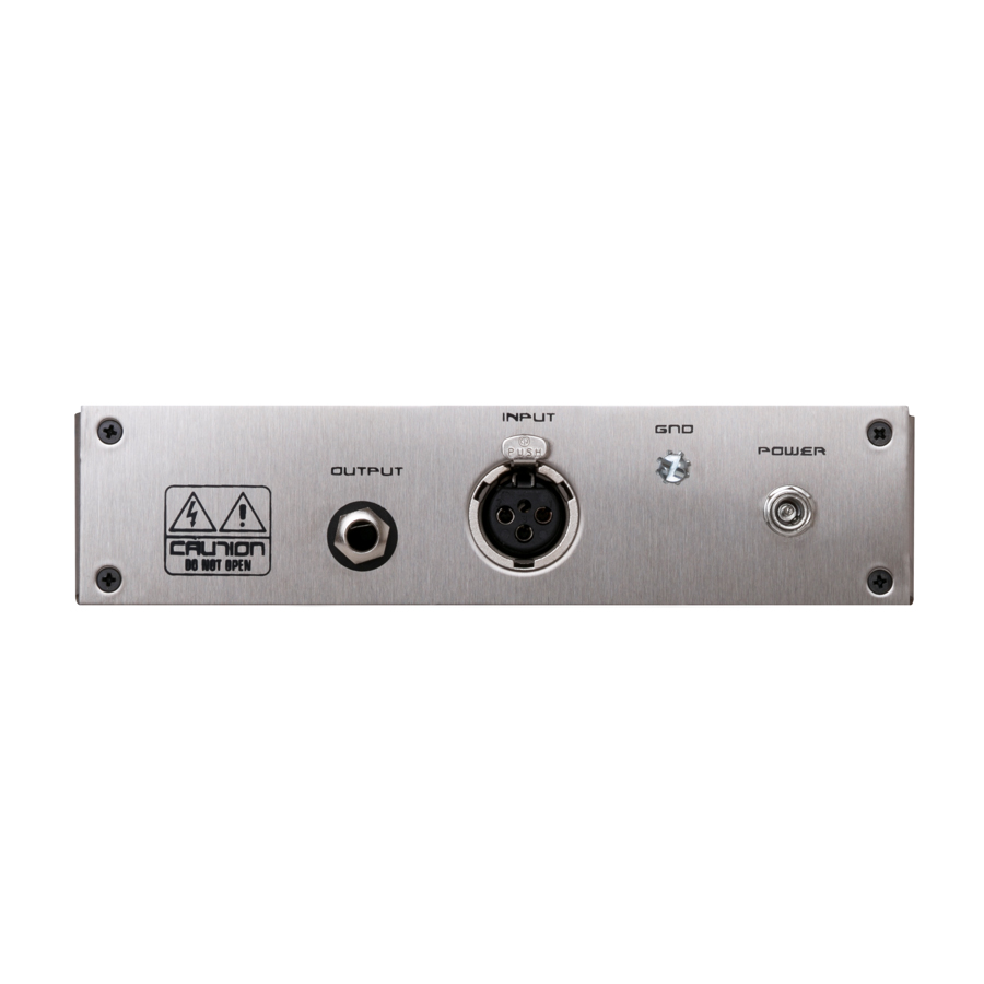 Black Lion Audio B173 Preamp Top View