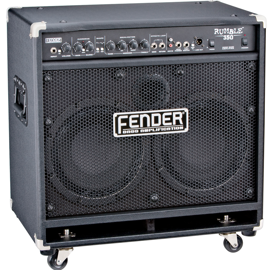 Fender Rumble 350 Combo Angled View
