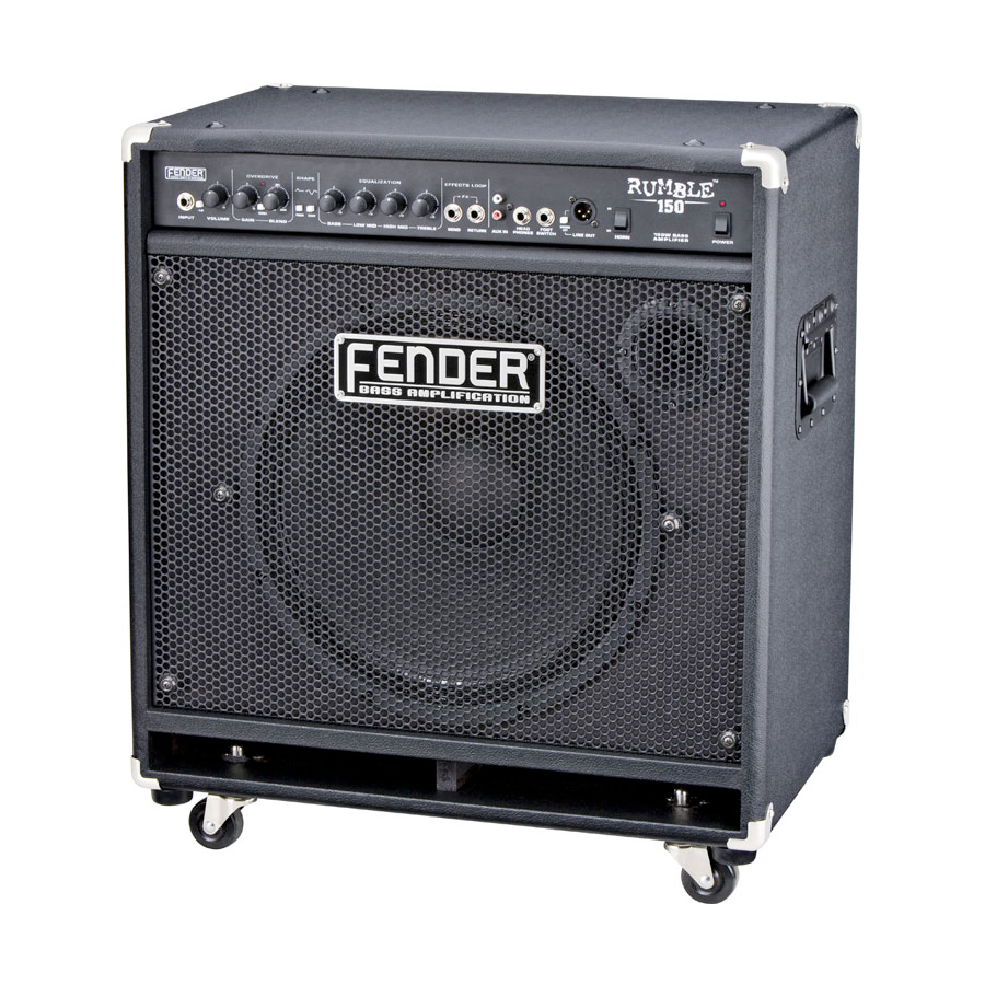 Fender Rumble 150 Combo Angled View