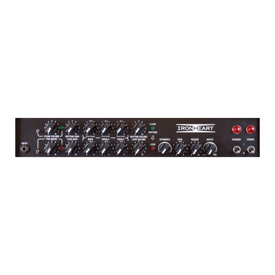 Laney IRT30-112 Control Panel