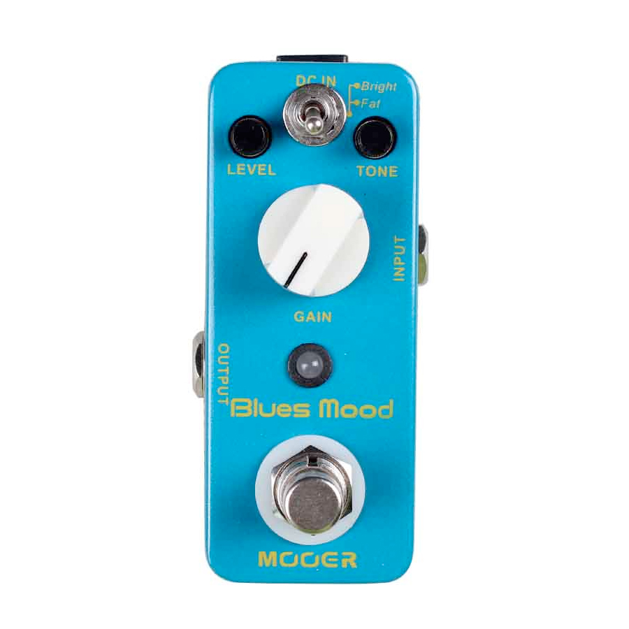 Mooer Blues Mood Angled View