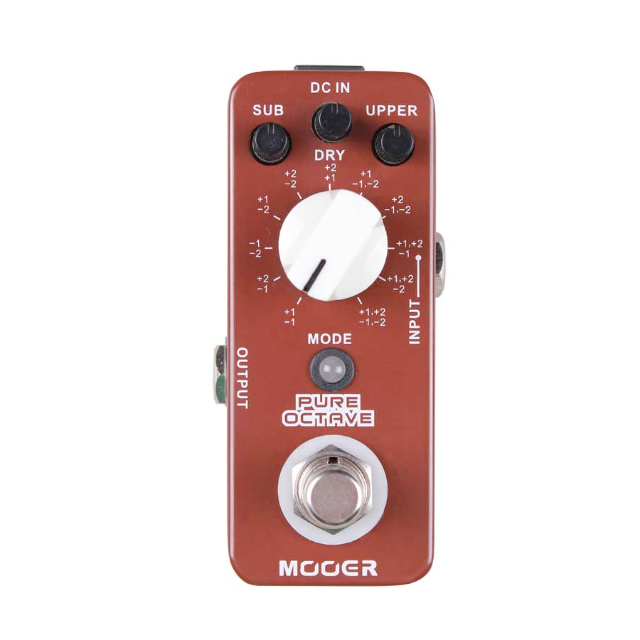 Mooer Pure OctaveAngled View