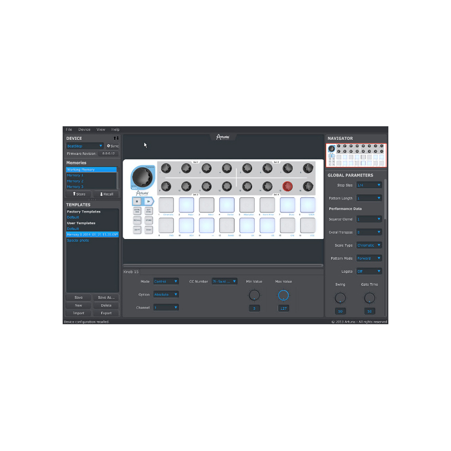 Arturia BeatStep View 7