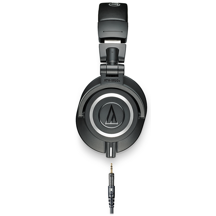 Audio Technica ATH-M50x Black Side View