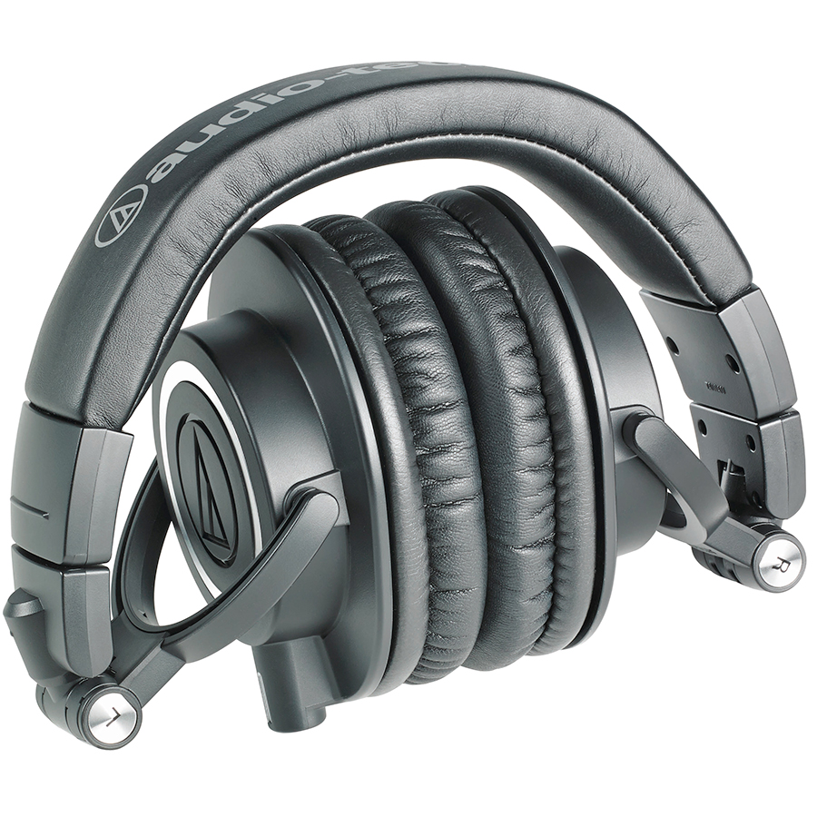 Audio Technica ATH-M50x Black Folded View