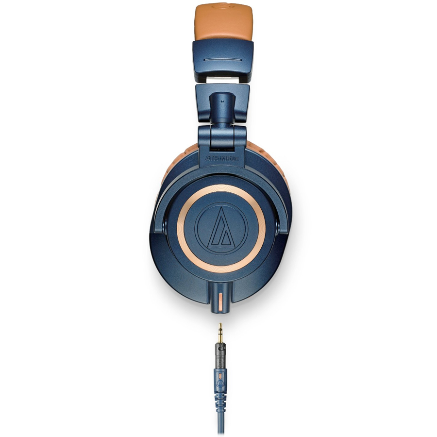 Audio Technica ATH-M50x Blue Side View