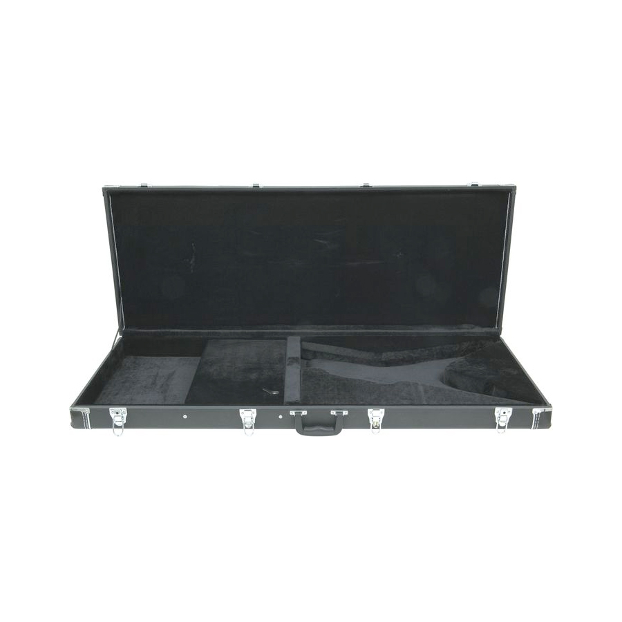 Dean Deluxe Hard Case - RazorbackOpened