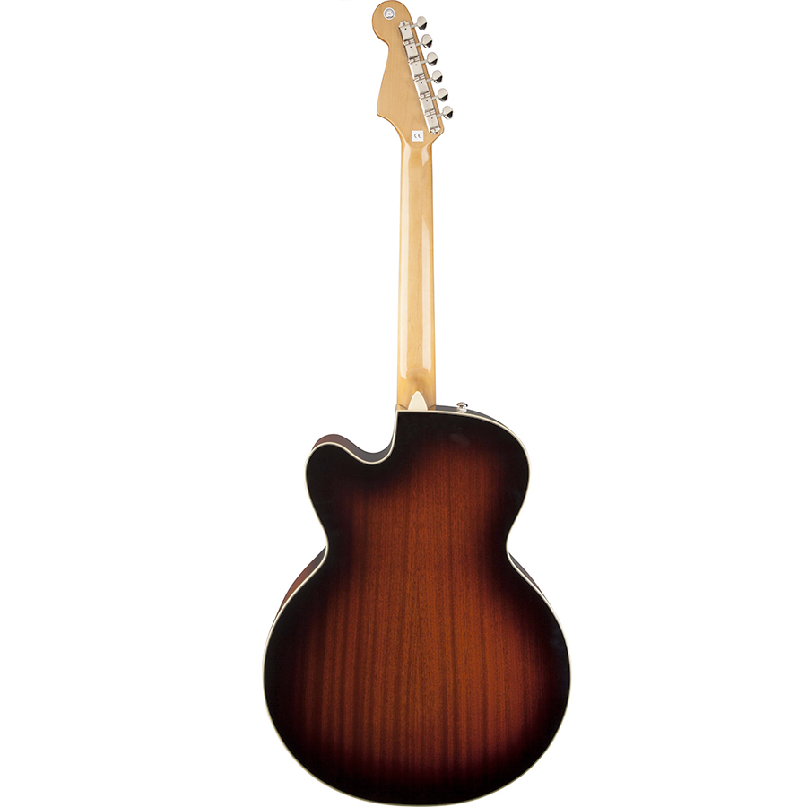 Fender Kingman Jumbo SCE 3-Color Sunburst Rear View